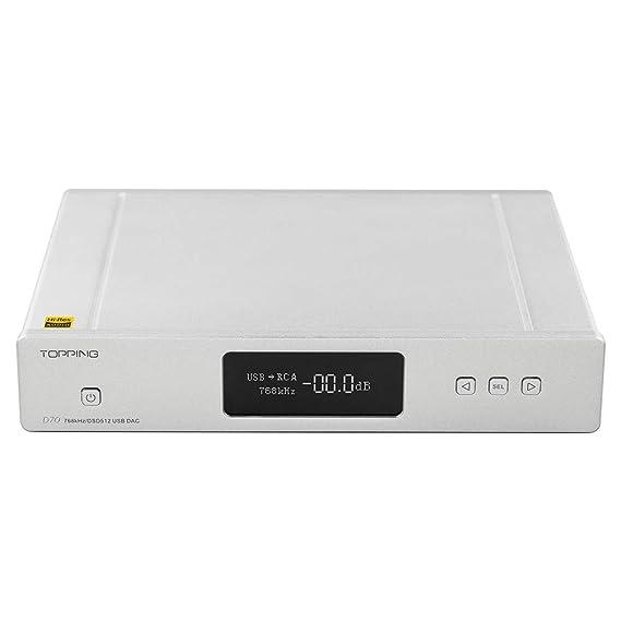 Amazon com: Topping D70 DAC AK44972 XMOS XU208 USB DSD512 Native