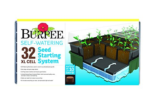 Burpee 32 Cell Xl Ultimate Self-Watering Seed Starting Kit by Burpee