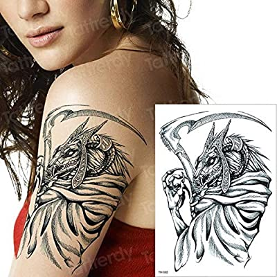 Tatuaje mecánico del Tatuaje del Tatuaje de Halloween del Tatuaje ...