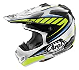 Arai VX-Pro 4 Spike Yellow Motocross Helmet - Small