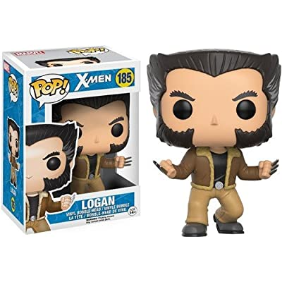 Funko POP Marvel: X-Men-Logan Action Figure: Funko Pop! Marvel:: Toys & Games