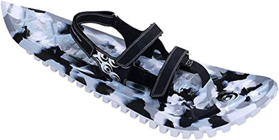 Crescent Moon, EVA All-Foam Snowshoes for Men and Women, Snow Hiking Walking Shoes - Camo | Icespikes  (2018 Model Year)