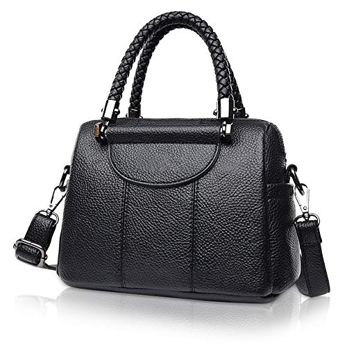 Top-Handle Mini Handbag for Women - Ladies Small Leather Bag and Purse