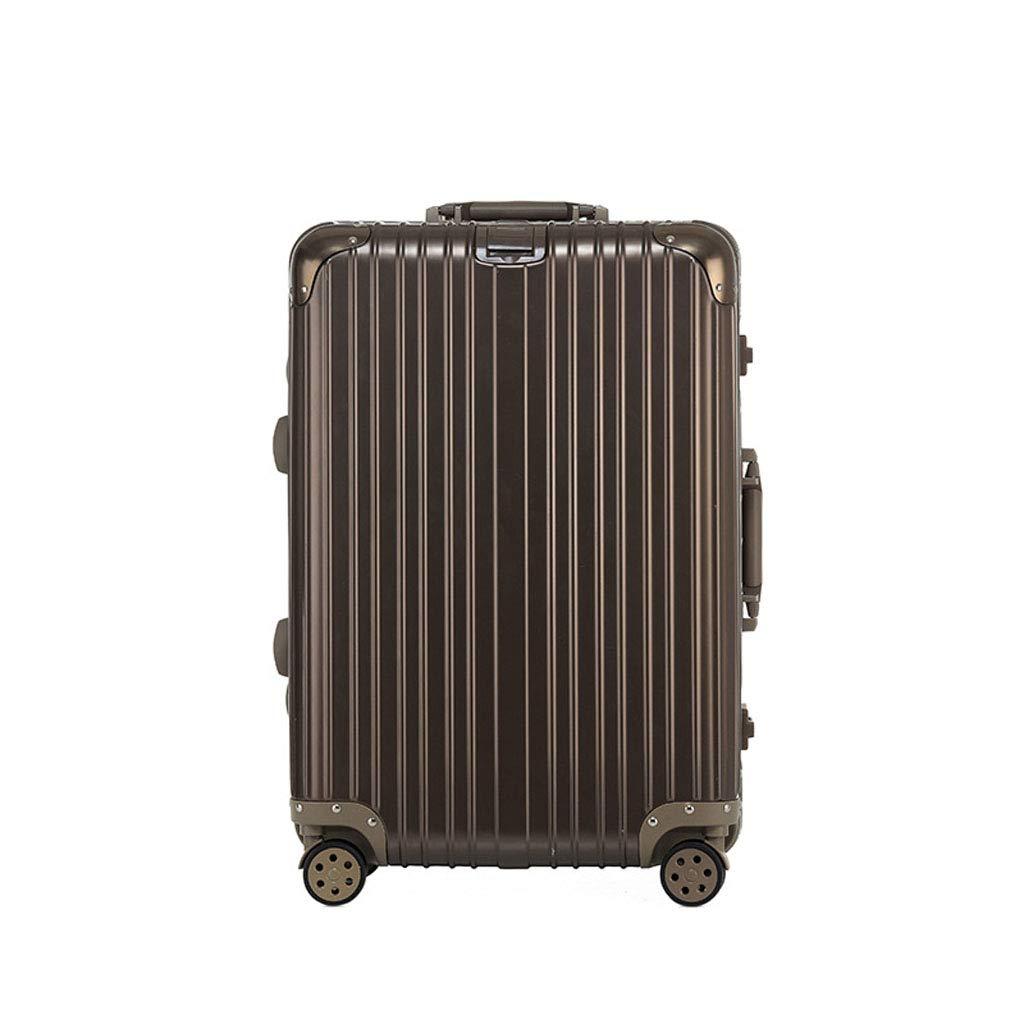 Mesurn JP ビジネススーツケース、ABS + PC複合アルミフレーム、360°ミュートキャスター、TSA税関ロック、チェックイン搭乗スーツケース 24Inch khaki gold B07P3LBPN5