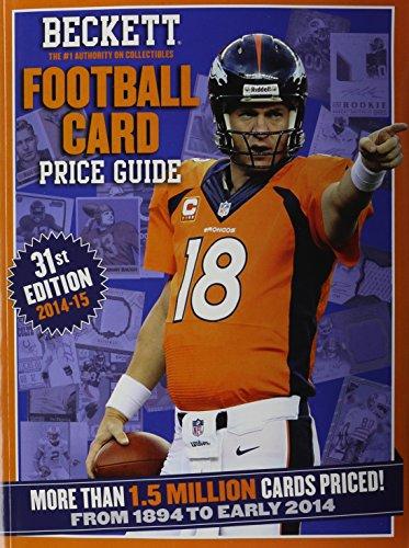 Football Cover Beckett (Beckett Football Card Price Guide 2015)