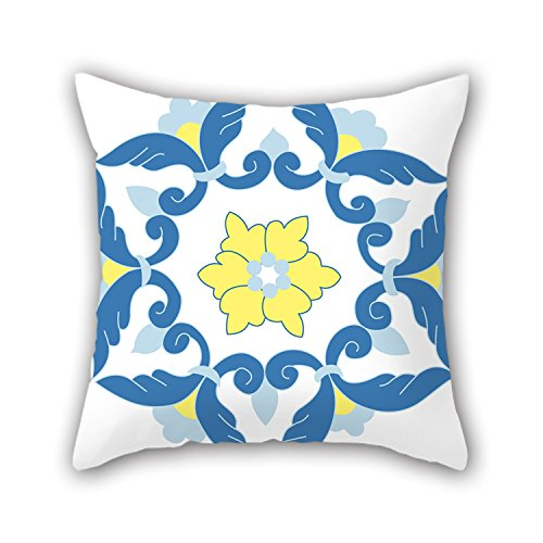 PILLO Bohemian Pillowcover 16 X 16 Inches / 40 By 40 Cm Gift Or Decor For Boy Friend,kitchen,divan,sofa,wedding,bedding - Double