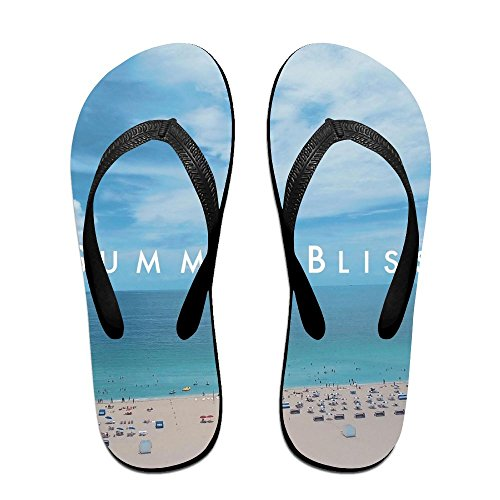 Bliss Summer Slim Casual Footwear Men Kids Women Beach Flop Summer For Black Thong Sandal Outdoor Slipper Flip IqxPwYvP
