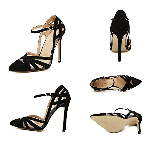 40 Pointed Hollow Heel Thin Women Shoes Thin High Zf8fq0