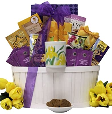 Great Arrivals Gourmet Coffee and Tea Gift Basket, Zen Blend