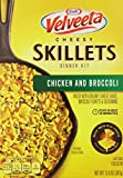 chicken broccoli - Velveeta Cheesy Skillets Dinner Kit, Chicken and Broccoli, 13.6 Ounce (Pack of 6)