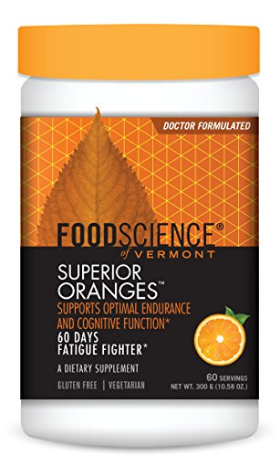 FoodScience of Vermont Superior Oranges, Energy and Endurance Support Drink Mix, 60 Servings Review