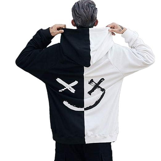 e03b4e45d4cc Elogoog hot sale Men t shirts Unisex Smiling Face Pullover for Mens Hip Hop  Fashion Print