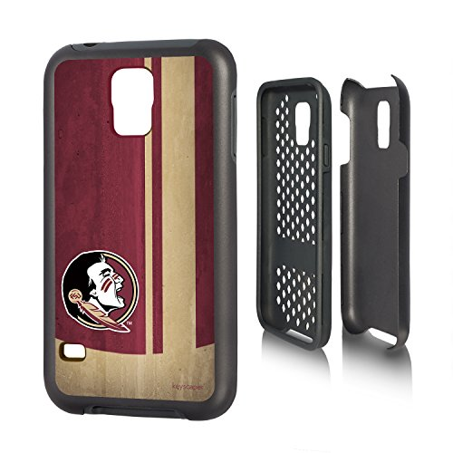 UPC 840816164554, Florida State Seminoles Galaxy S5 Rugged Case officially licensed by Florida State University for the Samsung Galaxy S5 by keyscaper® Durable Two Layer Protection Shock Absorbing