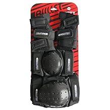 Bullet Skate Protective Pad Set (Adult, Black)