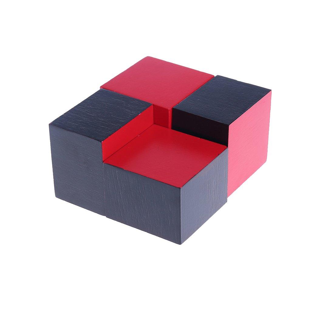 Blocs de Construction Apprentissage Alg/èbre et Maths Jouet Educatif Montessori Materiel Bebe en Bois Naturel Enfant only y Ensemble Cube Trinomial