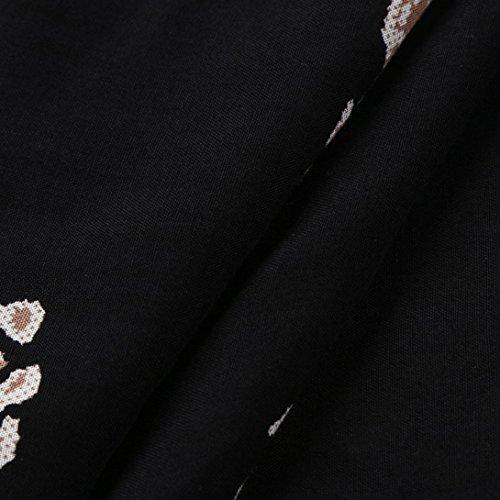 Bovake de plage Bohme Robe accouplement Noir de longue Robe longue plisse Femme plume de femmes de FrSnqF