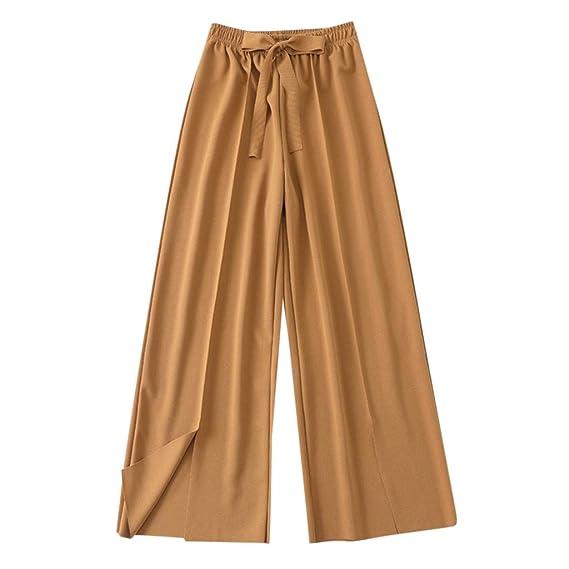 Luckycat Pantalones Anchos Para Mujer Otoño Invierno 2019
