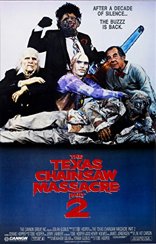 The Texas Chainsaw Massacre Part 2 Movie Poster 24x36
