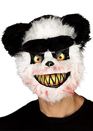 Halloween de Miedo Oso Panda máscara de Zombie