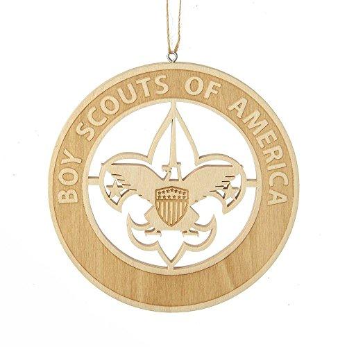 Kurt Adler Wood Laser Cut BSA Ornament ()