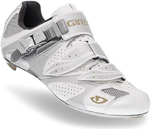 ESPADA White//Silver - 38 Giro 2011 Womens Espada Road Bike Shoes