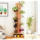 Magshion Flower Pot Shelf Stand Display Bookcase Ladder Shelving (50 inch)