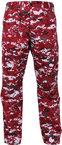 Red Camouflage Bdu Pants - Tactical BDU Pants Camo Cargo Uniform Trousers Camouflage Military Fatigues