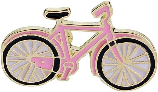 Emorias 1 Pcs Broche de Ropa Bicicleta Hombre Decoracion Mujer Fiesta Vestido Pin Bisuteria Aleación Joyería Accesorios: Amazon.es: Jardín