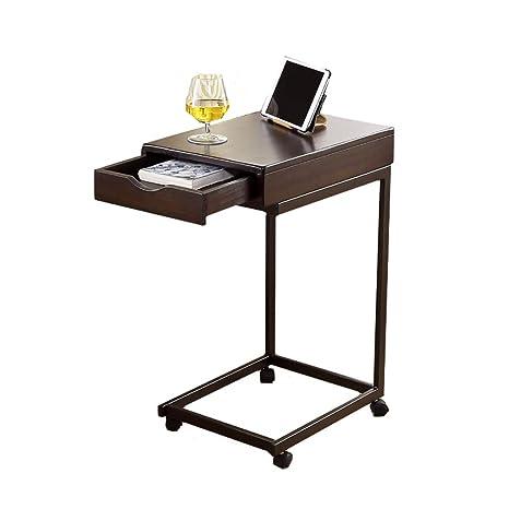 Amazon.com: Mesa auxiliar pequeña, mesa de aperitivos ...