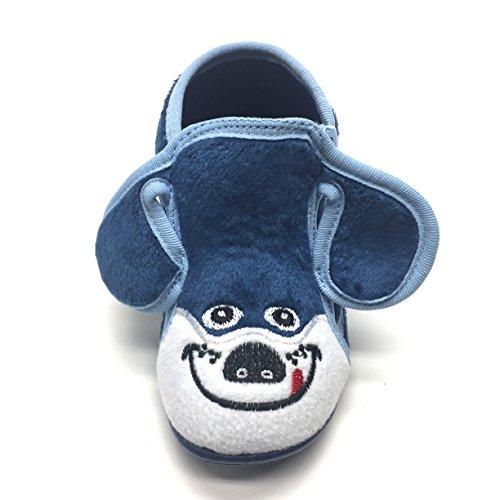 Blau Blau Blau Boys' Slippers Blau Gezer Boys' Gezer Slippers Blau Gezer Slippers Boys' xqAHPPwEU