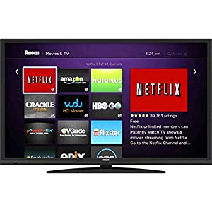 RCA LRK32G30RQ - 32 720P LED HDTV with Roku Streaming Stick (Certified Refurbished)