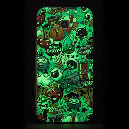85%OFF JuSha for Samsung Galaxy A3 2017 A320 Case TPU Soft Silicone Skin Gel Cover Case (Garbage Dump )