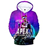 Apex Legends Hoodie Game Topic Sweater Pullover for $18.99 at Amazon