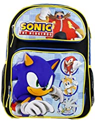 Backpack - Sonic the Hedgedog - Tails Sliver Knuckles Large Bag New 078878