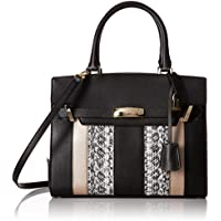 Calvin Klein Brooke Patchwork Combo Novelty Tote