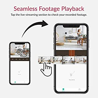 YI Smart Home Camera 3 w/ 6-Month Cloud Service, AI-Powered 1080p 2.4G Wi-Fi Indoor Security Camera System with 24/7 Emergency Response, Human Detection, Sound Analytics for Nanny Pet Dog Monitor