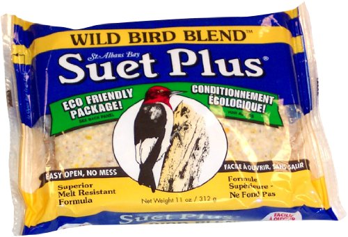 Wildlife Sciences Suet Plus Wild Bird Blend Feeder, My Pet Supplies