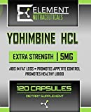 YOHIMBINE HCL (120ct x 5 mg) Extra Strength by