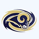 ST LOUIS RAMS NFL Car Sport Magnet Bright Colors Big 12'' Spiral Logo NEW