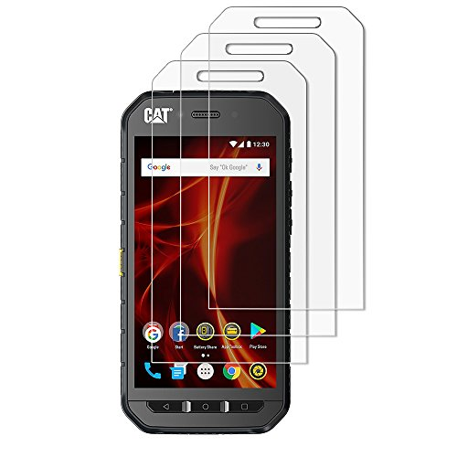 (Pack of 3) Gzerma Screen Protector Film for Cat S41 High Definition Clear Case Friendly Easy to Install Shockproof Front Screen Protective Cover Defender Film for Caterpillar CAT S41 - Cat Big Protector Case