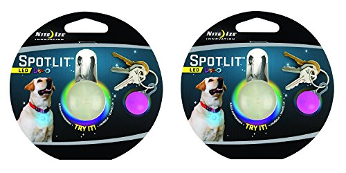 Nite Ize SPOTLIT Night Safety Light Color:Disco Size:Pack of 2