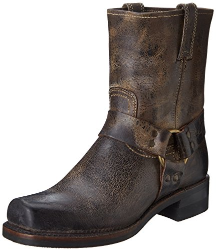 Chocolate Men's 8R 87402 Harness Boot FRYE 80IAZqx