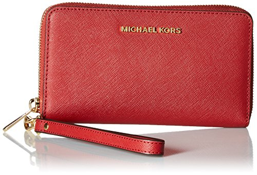 Michael Michael Kors Jet Set Large Leather Phone - Kors Clear Handbag Michael