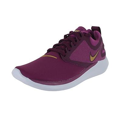 68e688187fb Nike Kids Nike Lunar Solo (GS) Tea Berry Metallic Gold Running Shoe Size 3.5
