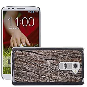 Etui Housse Coque de Protection Cover Rigide pour // M00151521 Tronco de árbol seco natural de la // LG G2 D800 D802 D802TA D803 VS980 LS980