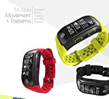 Band for Men,Bluetooth Smart Wristband with Heart