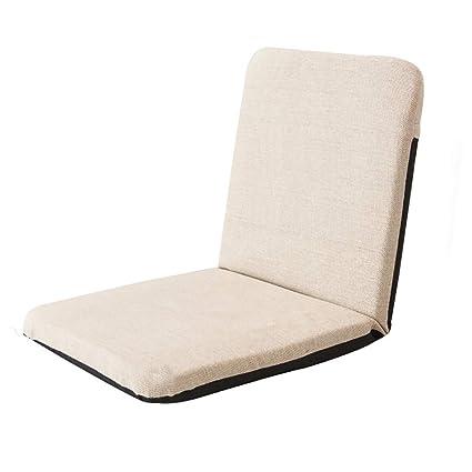 Amazon.com: SYF Multifunctional Folding Lazy Linen Sofa ...