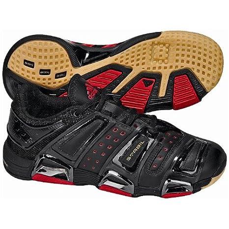 size 40 6d7d4 13b8e adidas Stabil S J - Zapatillas de Balonmano para niños, Color NegroRojo,  Color Negro, Talla 38 Amazon.es Zapatos y complementos