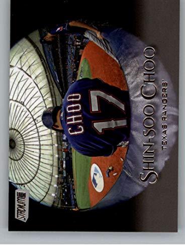 2019 Stadium Club Baseball #241 Shin-Soo Choo Texas Rangers Official MLB Trading Card From Topps