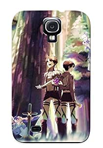 Durable Protector Case Cover With Shingeki No Kyojin Akiakane Auruo Bossard Boots Brown Hair Crying Erd Gin Eren Hot Design For Galaxy S4 (ideal Gift For Lovers) by lolosakes